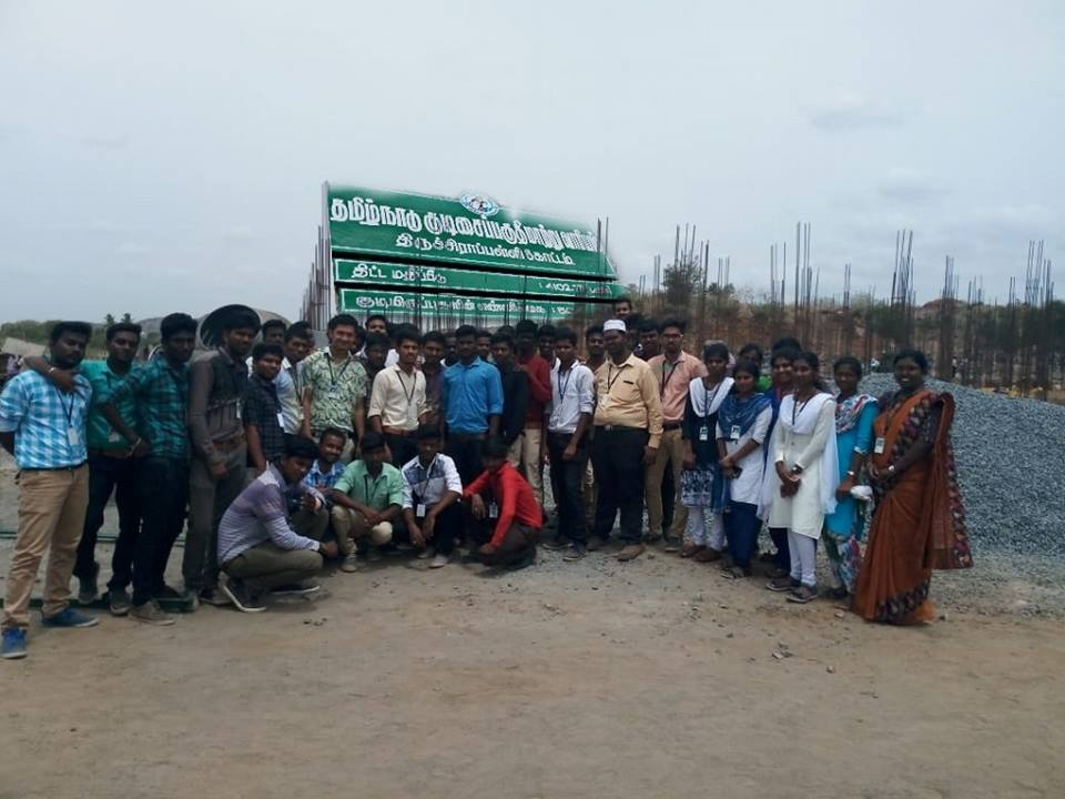 Industrial Visit to Slum Clearance Board
