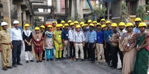 Industrial Visit to  Gravity Dam & Dalmia Cement Factory