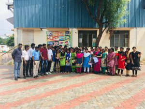 MBA Students visited Parle-G Industry