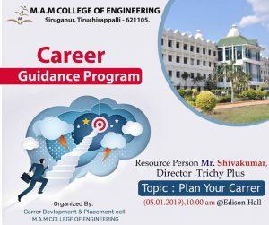 Plan Your Career – A Career Guidance Program