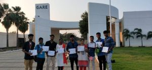 Winners at CARE College of Engineering