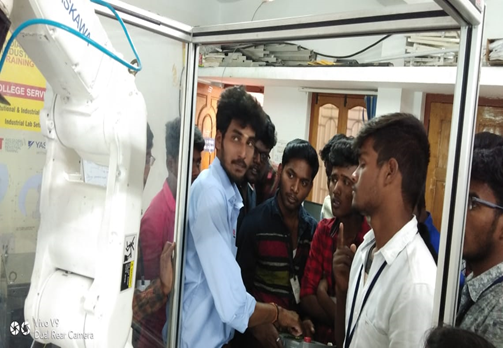 The Students Of EEE & EIE Visited AGIIT SOLUTIONS, Coimbatore