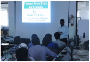 Guest lecture on Thermal power plant and instrumentation