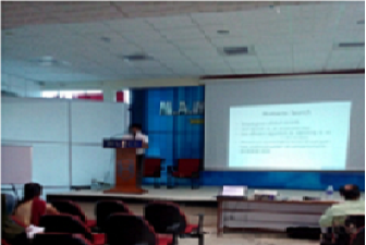 GUEST LECTURE – 11-08-2015