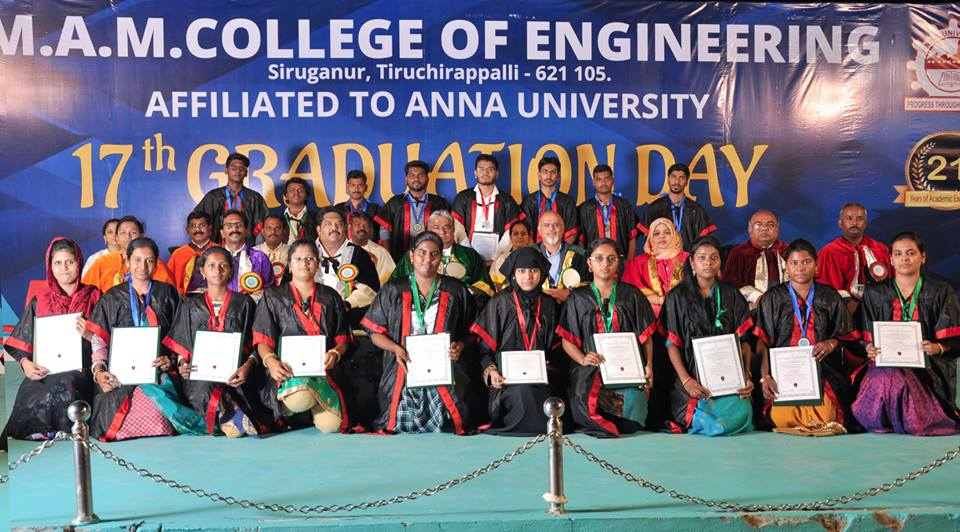 The 17th Graduation Day was celebrated on 9th March, 2019